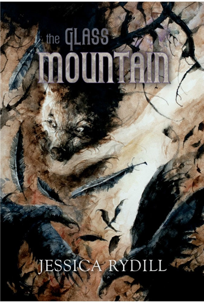 Book cover for The Glass Mountain by Jessica Rydill